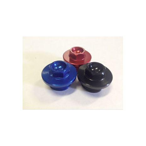 Outlaw Racing PP12BU Oil Fill Cap Plug Blue Kawasaki KLX110 Suzuki DRZ110 ALL